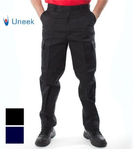 UNEEK UC902 HEAVY DUTY WORKWEAR CARGO TROUSERS